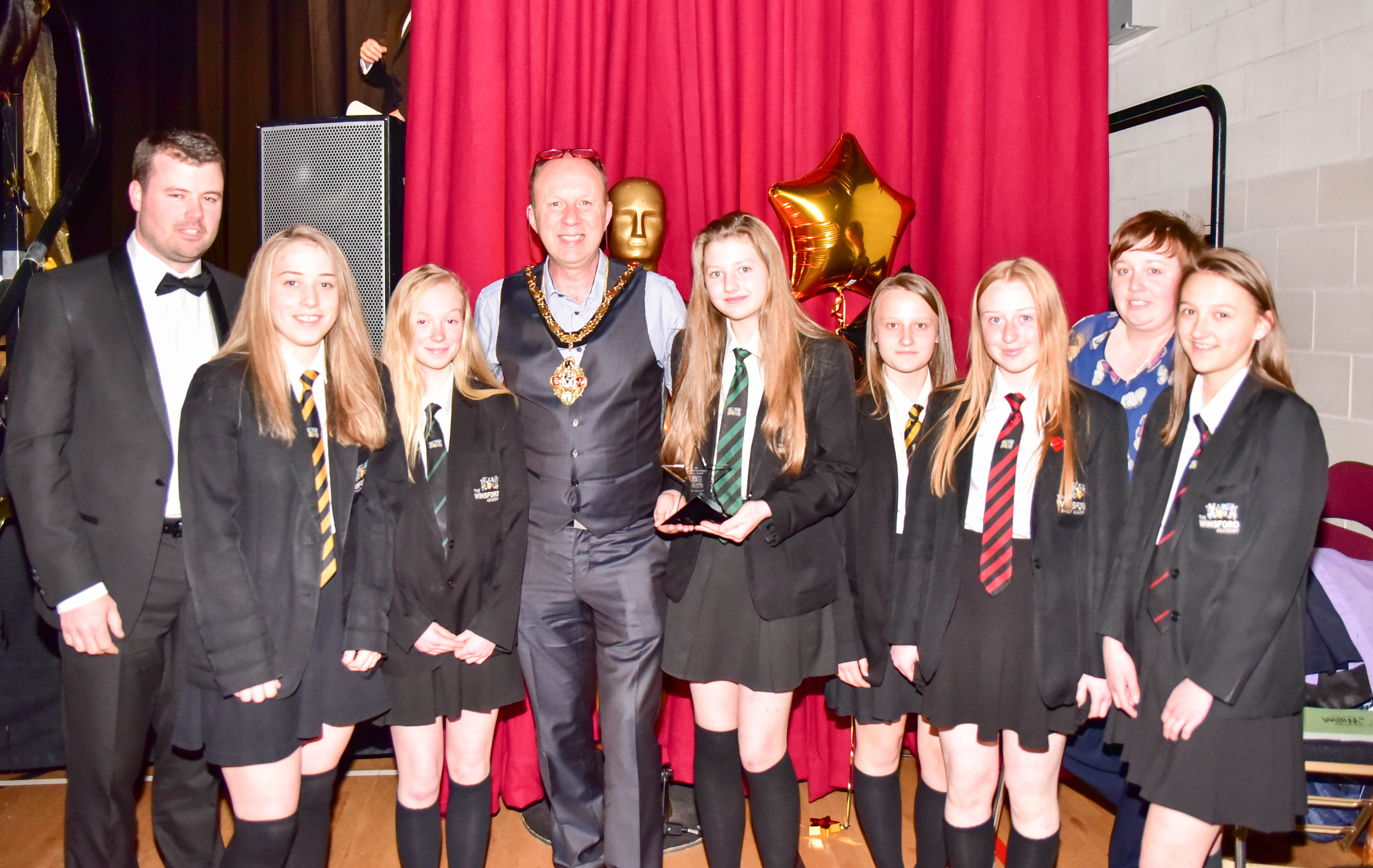 "Winsford Town Mayor's ""Oscar"" Awards 21/04/17"